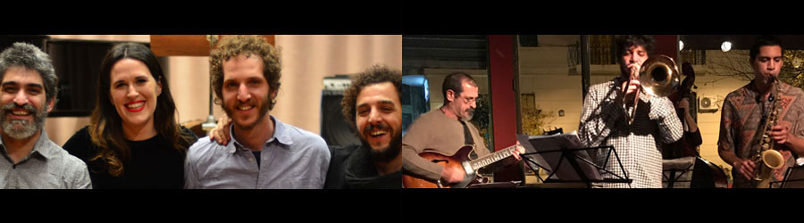 Julia Sanjurjo grupo + Marcelo Gutfraind y Los Hados Padrinos